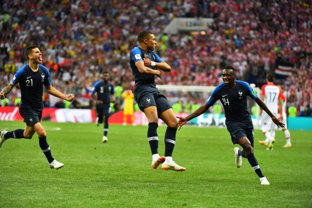 Kylian Mbappé a marqué l'histoire