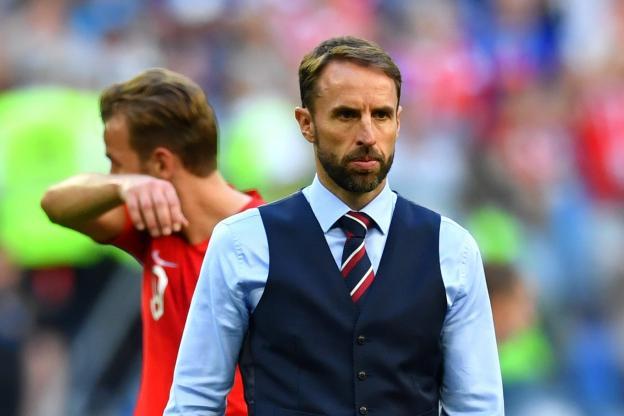 L'Angleterre de Southgate s'est inclinée contre la Belgique