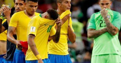 Le Brésil a été éliminé par la Belgique
