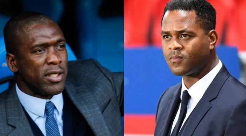 Clarence Seedorf et Patrick Kluivert ont été nommés respectivement entraîneur principal et entraîneur adjoint