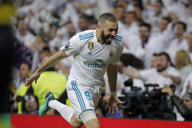 Karim Benzema a marqué le premier but du Real