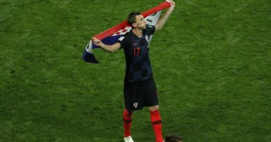 Mario Mandzukic lors de la finale de la Coupe du monde