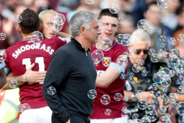 José Mourinho et les Red Devils