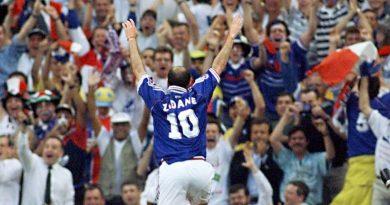 Zinedine Zidane france 98