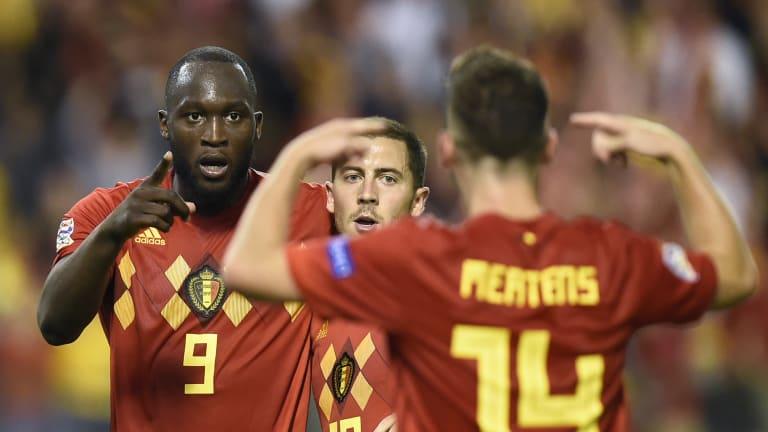 Belgique seule en tête, Gibraltar dans l'histoire