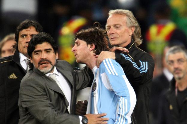 Diego Maradona a critiqué sèchemment Lionel Messi