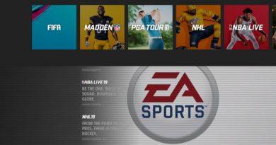 Le site d'EA Sports