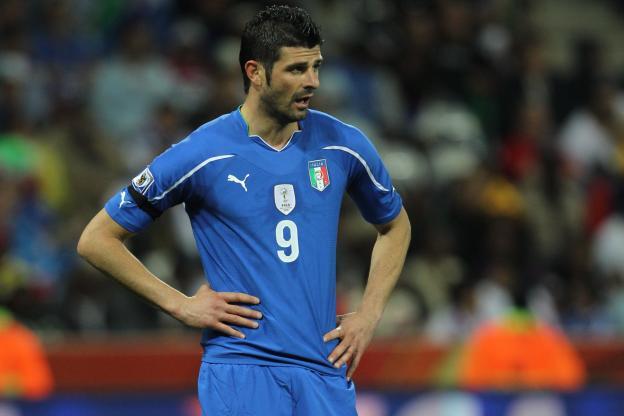 Vincenzo Iaquinta a porté le maillot de l'Italie à 40 reprises