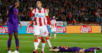 Liverpool a été mis à terre par des Serbes