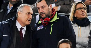 Salvini était dans les tribunes pour le match contre la Lazio