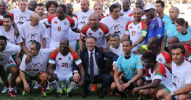 festival anciens joueurs au maroc