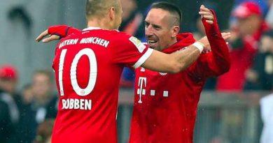 Le duo Ribéry - Robben