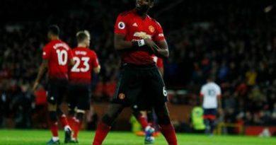 Paul Pogba inscrit un doublé avec Manchester United