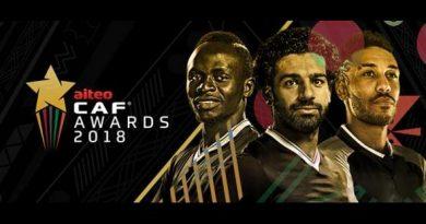 Aubameyang, Mané, Salah dans les Top 3 (1)