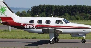 Le Piper Malibu, le type d'avion qui a transporté Sala