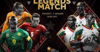 Les Lions de 2002 vs les Légendes Africaines