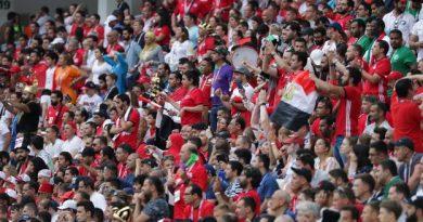 Les supporters égyptiens durant le Mondial