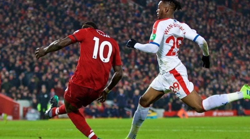 sadio face a palace