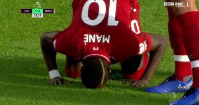 But de la tete de Sadio MANE pour les Reds