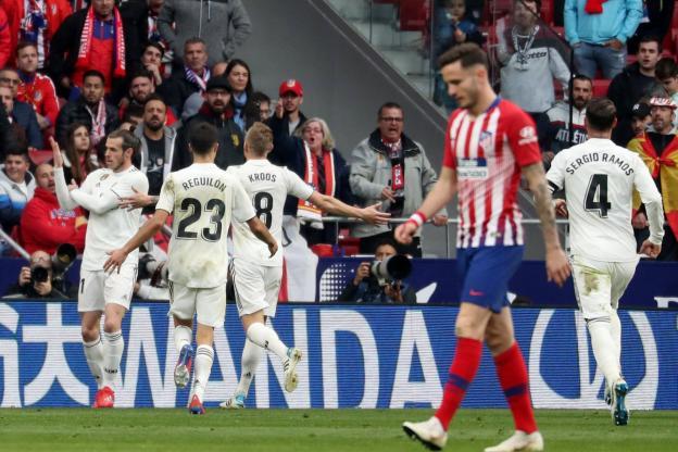 Le Real remporte le derby de Madrid et dépasse l'Atlético