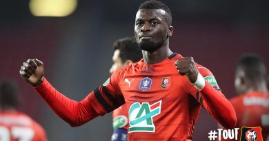 Premier but cette saison en Coupe de France pour l'international sénégalais