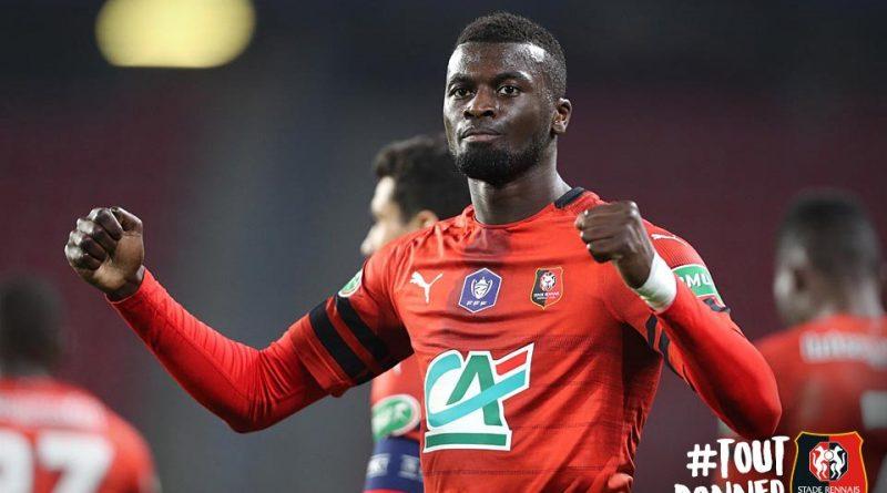 Premier but cette saison en Coupe de France pour l'international sénégalais