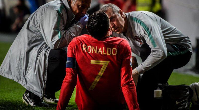 Cristiano Ronaldo souffrirait d'une légère lésion