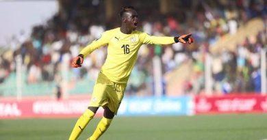 Le gardien des U-20 Dialy Ndiaye