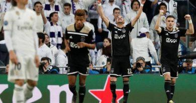 un Ajax magique élimine le Real à Madrid