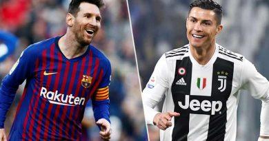 CR7 et Messi se départagent les deux premières places