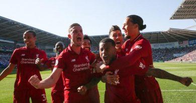 Georginio Wijnaldum vient de libérer Liverpool en ouvrant le score