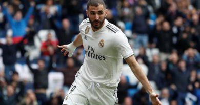 Karim Benzema a inscrit un triplé