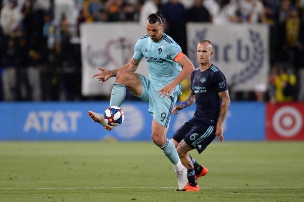 Zlatan Ibrahimovic est deuxième au classement des buteurs en MLS