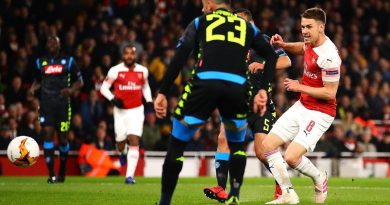 arsenal 2-0 naples