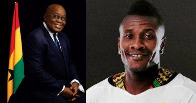 le Président du Ghana ramène Asamoah Gyan en sélection