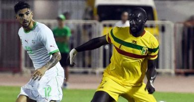 algerie mali match amical