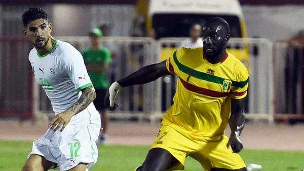 algerie mali match amical