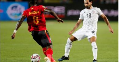 l'Ouganda rejoint l'Égypte en huitièmes
