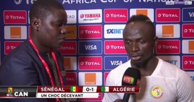 sadio video apres defaite algerie
