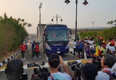 CAN 2019 : Une bonne ambiance à l'entraînement des Lions à 3 jours de la finale