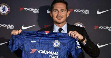 Frank Lampard lors de sa conférence de presse de présentation