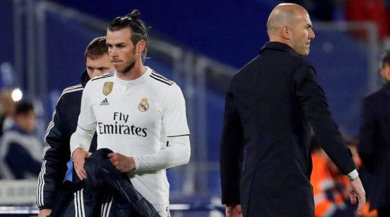 Gareth Bale remplacé lors d'un match du Real Madrid