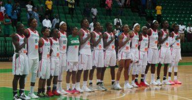 Exécution de l'hymne national du Sénégal basket lionnes