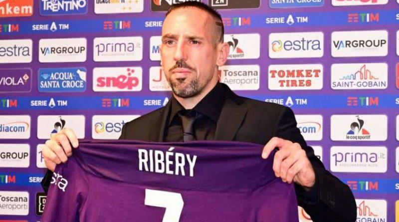 Franck Ribéry a été présenté à Florence