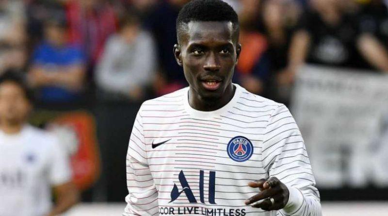 Idrissa Gueye avant la rencontre entre le PSG et Toulouse en Ligue 1