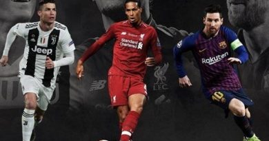 Joueur UEFA de l'année, la liste des trois nommés