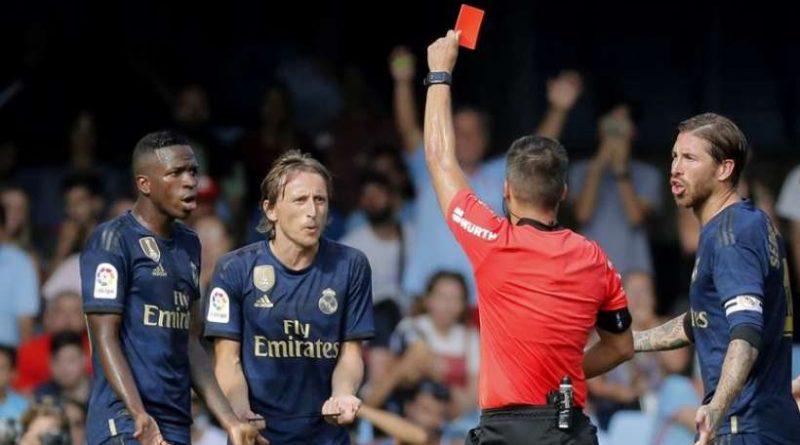 Luka Modric a été expulsé ce week-end face au Celta