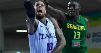 senegal italie basket