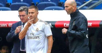 Eden Hazard peut compter sur la confiance de Zinedine Zidane à la veille du derby