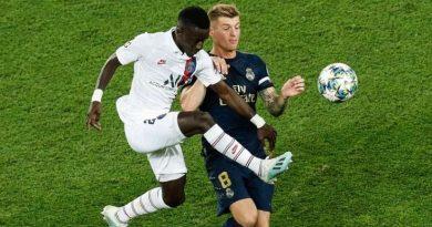 Idrissa Gueye, ici face à Toni Kroos